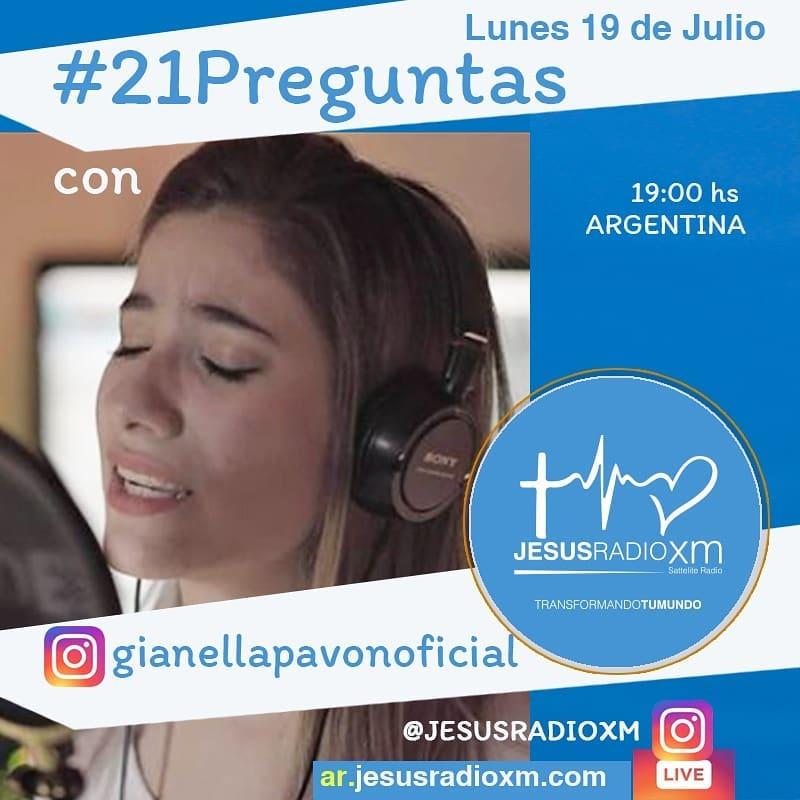 Gianella Pavon en #21Preguntas de Jesus Radio Xm